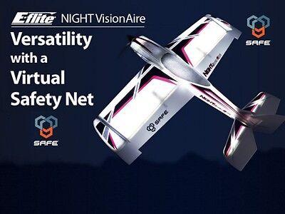 E-Flite Eflite Night Visionaire w//SAFE Technology RC Airplane BNF Basic EFL7150