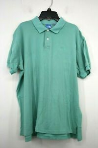 The-North-Face-Mens-Teal-Button-Front-Short-Sleeve-Cotton-Athletic-Polo-Shirt-XL