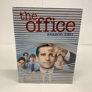 NEW-NBC-THE-OFFICE-SEASON-TWO-2-DVD-BRAND-NEW-FACTORY-SEALED