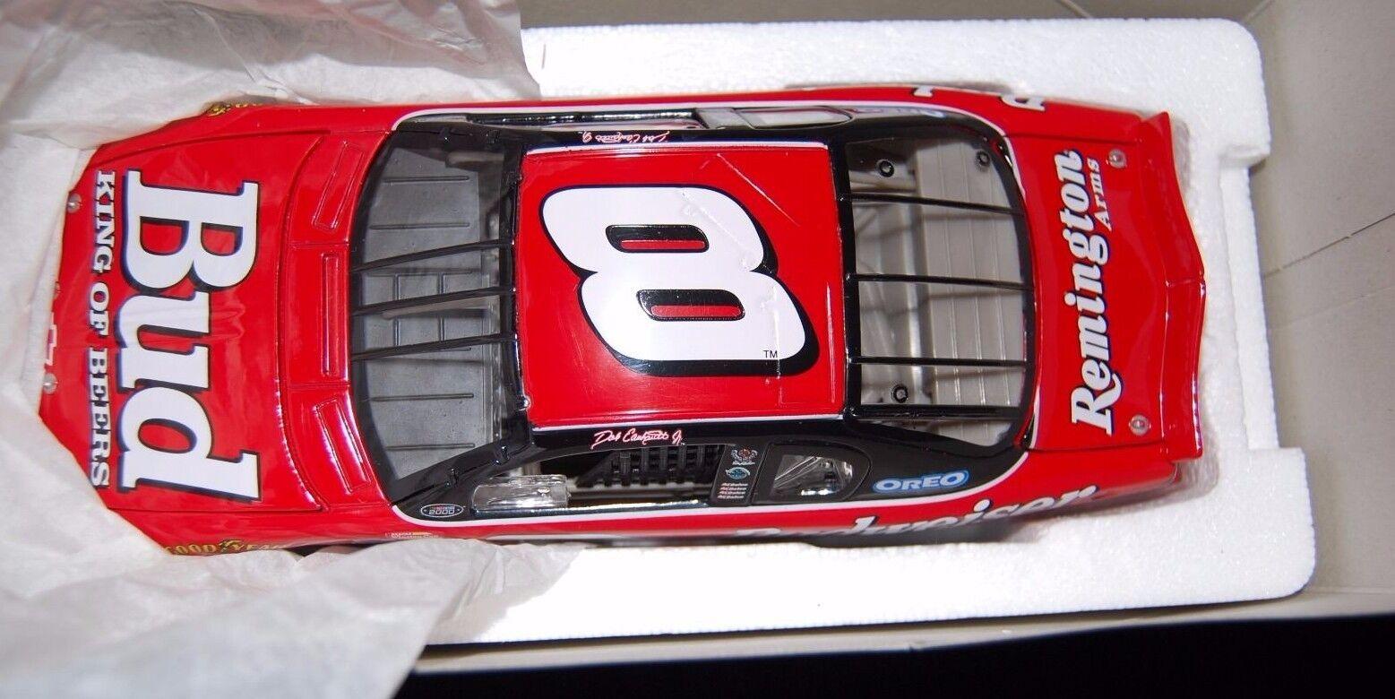 Dale Earnhardt Jr  8 Budweiser 2000 Monte Cochelo han recibo original 4 15 00