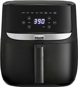 Bella Pro Series - 6-qt. Touchscreen Air Fryer - Black Matte