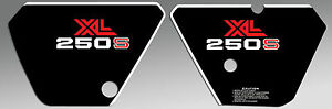 COVER PLATE GRAPHICS 250 HONDA XL250 XL SIDE DECALS 1981 CqX1Xwa