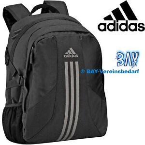 6bb42fd9686fe Das Bild wird geladen ADIDAS-POWER-Rucksack-Backpack-Tasche-Schultasche- Sport-Fitness-