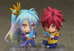 Nendoroid-No-Game-No-Life-zero-Q-Ver-Action-Figure-Modell-PVC-Spielzeug-10cm