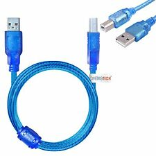 PRINTER USB DATA CABLE FOR Epson Workforce WF-2630WF A4 Colour Multifunction Ink