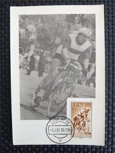 AgréAble Sidi Ifni Mk 1958 Cycle Sports Maximum Carte Carte Maximum Card Mc Cm C4094