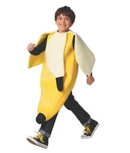 New-Target-Boy-039-s-Youth-Child-Peeled-Banana-Halloween-Costume-Yellow-Small-Medium