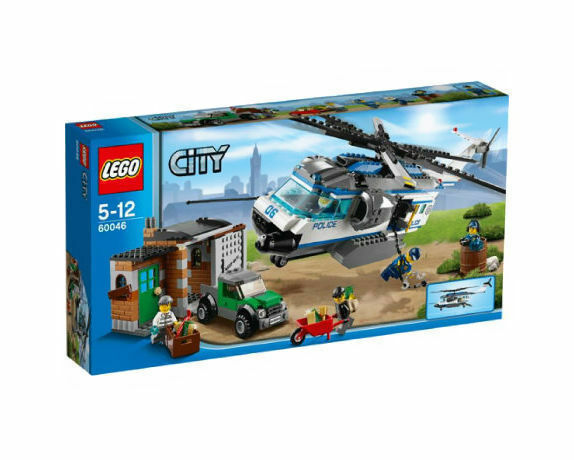 Lego City 60046 Helicopter Surveillance New In Box 528 Pieces