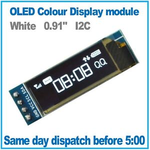 Details about OLED Display White 128X32 0 91