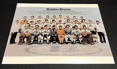 1973/74 Boston Bruins Team Photo 8x10 Print | eBay Bruins Roster 1973