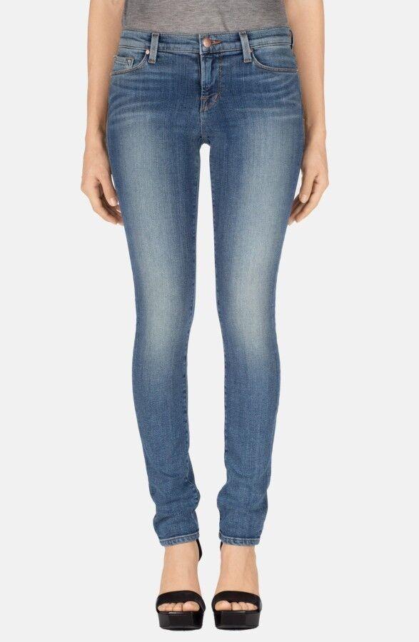 J Brand 'Eisenbahn' Mid-Rise Gerades Bein Jeans , Klang, Klassisch Blau Wash, S.