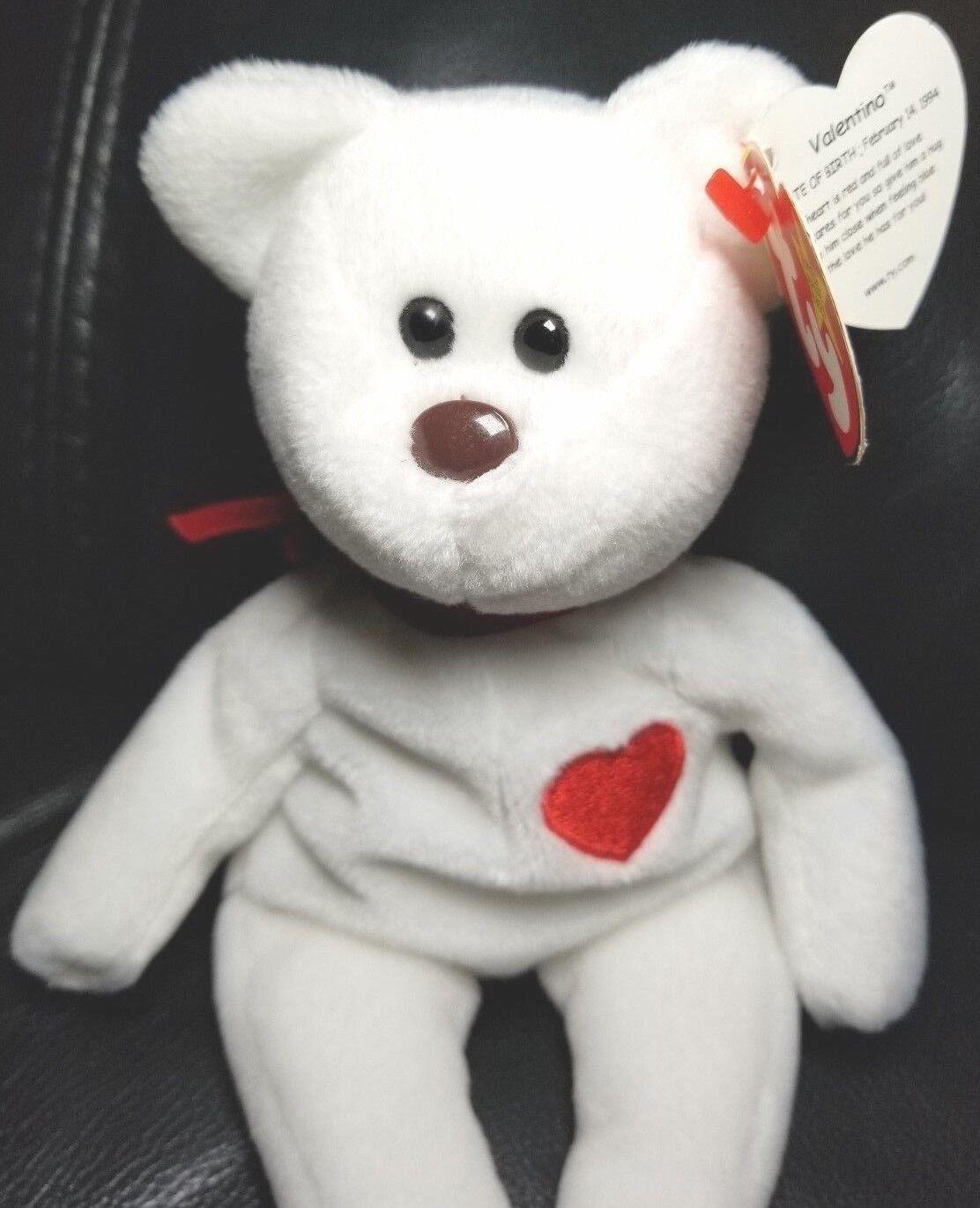Original - ty beanie babys valentino 1993 mit 94 tag viele fehler sehr selten