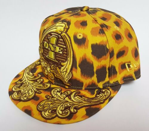New Era 9FIFTY Jeremy Scott LEOPARD ONE Snapback Hat Embellished Cap RARE $75