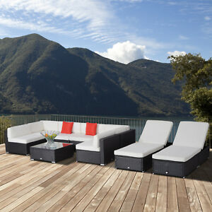 Outsunny-9pcs-Delux-Outdoor-Indoor-Wicker-Rattan-Sofa-Set-Patio-Rattan-Wicker
