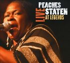 Live at Legends [Digipak] by Peaches Staten (CD, 2010, Swississippi Records)
