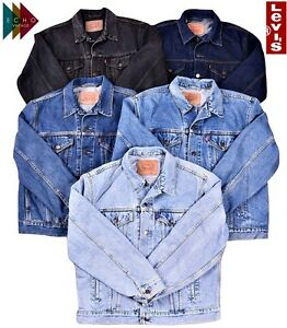 LEVIS VINTAGE DENIM JACKET MENS WOMENS GRADE A TRUCKER XS, S, M, L ...