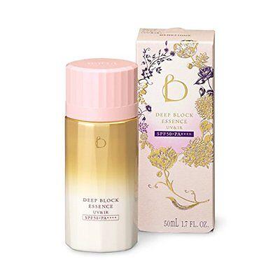 w/Tracking! SHISEIDO BENEFIQUE Deep Block Essence Sunscreen UV & IR SPF50  50ml