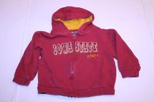 Details about Toddler Girls Iowa State Cyclones 3T Jacket Hoodie Hooded Sweatshirt Colosseum A