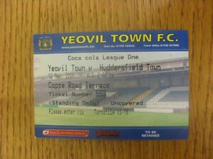 12112005 Ticket Yeovil Town v Huddersfield Town Slight Fold Any faults are - <span itemprop='availableAtOrFrom'>Birmingham, United Kingdom</span> - Returns accepted within 30 days after the item is delivered, if goods not as described. Buyer assumes responibilty for return proof of postage and costs. Most purchases from business s - Birmingham, United Kingdom