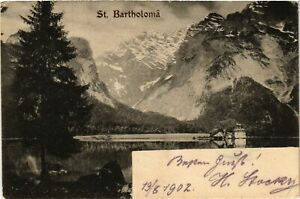 CPA-AK-Konigssee-St-Bartholoma-GERMANY-878809