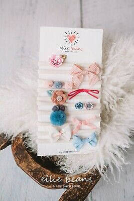 Baby Girl Headbands and Bows Newborn Infant Toddler Hair Accessories 10-Pack