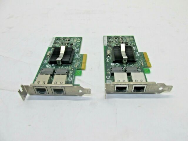 QTY-2 IBM INTEL 39Y6127 PRO/1000 PT DUAL PORT PCI-e SERVER ADAPTER T8-C15