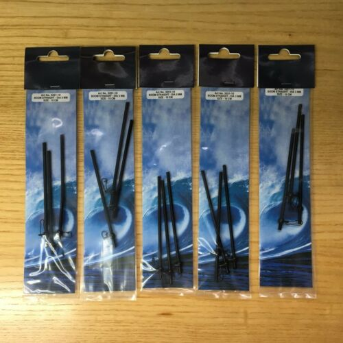 5 Packs of 3 Straight Boom 3mm Size 5cm or 10cm Sea Fishing Tackle
