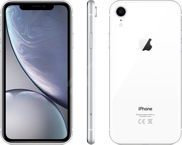 iPhone: Apple iPhone XR 64GB ITALIA Silver Bianco LTE NUOVO Originale Smartphone iOS