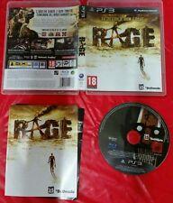 Rage Ps3 Eccellente 1a Stampa Edizione Italiana con manuale