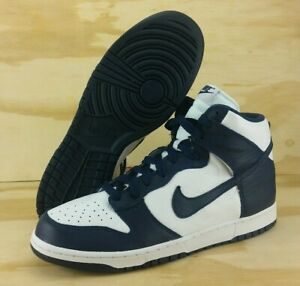 brand new bc2d3 24abc Image is loading Nike-Dunk-Retro-High-QS-Villanova-Midnight-Navy-