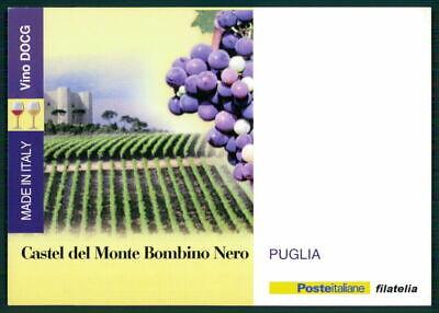 """Gut Italien Werbekarte """"made In Italy"""" Weinanbau Wein Wine Trauben Puglia Ed62 Attraktive Designs;"""