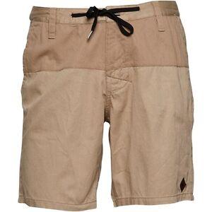 Pantaloncini Taglia Mercer uomo da Rhythm Walk 28w Beige Nuovo qS6fYwd