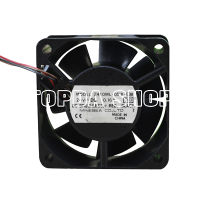 for NMB 2410RL-05W-B60 6025 24V 0.12A 6 cm Cooling Fan