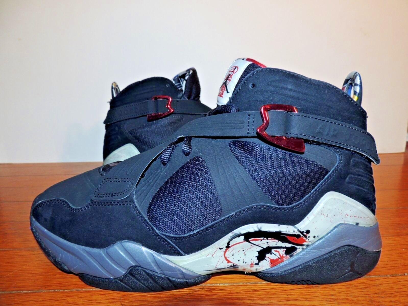 Nike Air Jordan 9.5 shoes Sneaker 467807-010 8.0 VIII OG Retro Varsity Red Flint