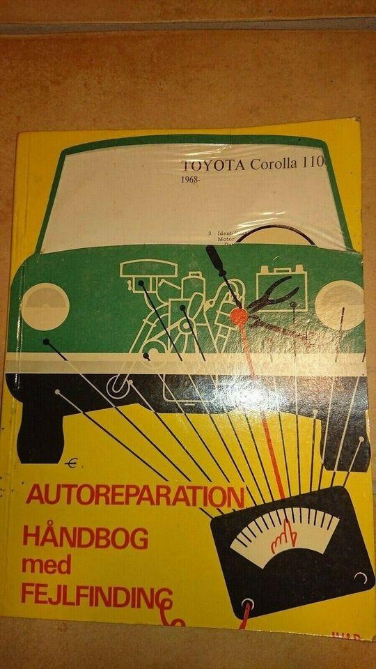 Reparationshåndbog, Toyota Corolla 1100 (1968)