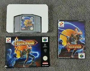 N64 Castlevania en caja y COMPLETO PAL VERSION UK