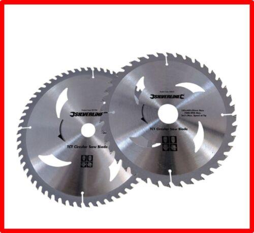 2 lames de scie circulaire 300 x 30 en 40 et 60 dents carbure REF 803634