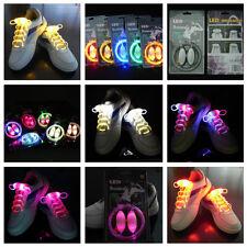 Ein Paar LED Leucht Schnürsenkel Schnursenkel Schuhsenkel Schuhbänder Schuhband