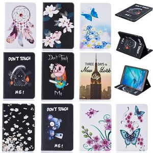Beautiful-Pattern-Flip-Stand-Case-PU-Leather-Cover-For-Apple-iPad-Samsung-Galaxy