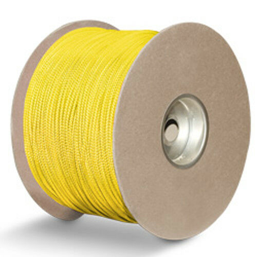 CWC Polyester Sensor Cord - 1 8  x 1000 ft., Yellow