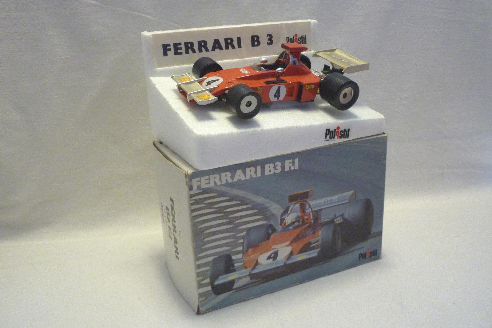POLISTIL-modello in metallo-FERRARI b3 F.I - 1:25 - (5.div11)