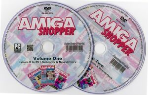 AMIGA-SHOPPER-Magazine-Collection-on-Disk-ALL-ISSUES-1200-A500-CD32-Games-Apps