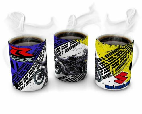 Retro Style SUZUKI  Motocycle Mechanic Gift Garage Mug