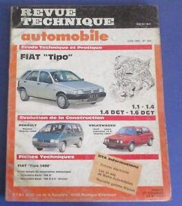 à Condition De Revue Technique Automobile Rta 504 1989 Fiat Tipo 1.1 1.4 1.4 Dgt 1.6 Dgt Design Moderne