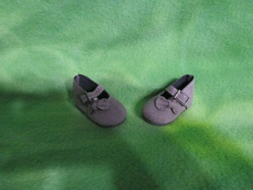 """PAOLA REINA 13.5/"""" DOLLS  BLACK GRAY MARY JANE SHOES ACCESSORIES AND COLLECTIBLES"""