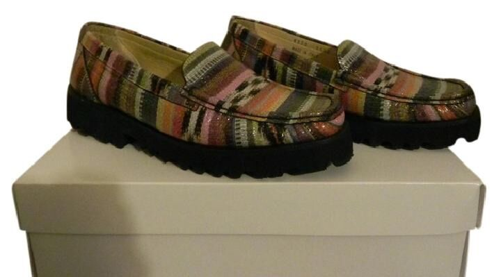 Ron White All Day Rita Multi color Flats Size 4M Retail  285  Made In