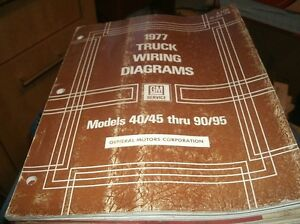 1977 GM GMC CHEVROLET MEDIUM HEAVY TRUCK MODELS 40/45 THRU ...