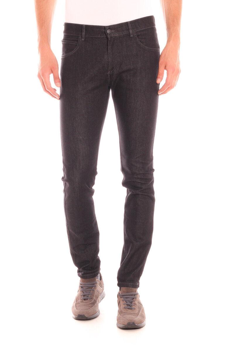 Jeans Daniele Alessandrini Jeans Cotone men black PJ5385L030 1111