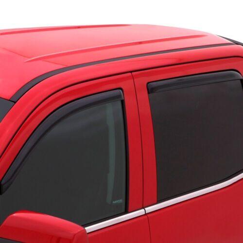 For Kia Sorento 16-19 In-Channel Ventvisor Smoke Front /& Rear Window Deflectors