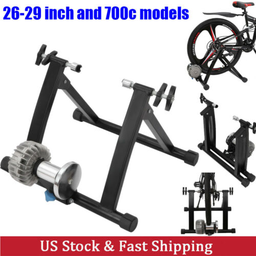 Fluid Bike Trainer Stand Bicycle Exercise Training Indoor Cycling Bike Riding US